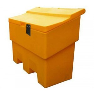 400 litre Grit Bin With Hasp+Staple
