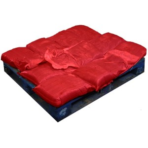 Sandbags Pre Filled Red (uv protected) (10x15kg)