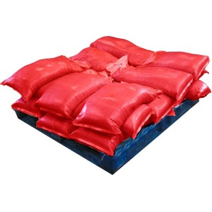Pre Filled Red Sandbags (uv protected) (21x25kg)