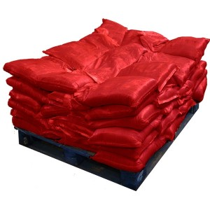 Sandbags Pre Filled Red (uv protected) (60x15kg)