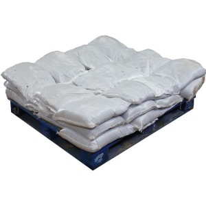 Sandbags Pre Filled White (uv protected) (30x15kg)