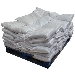 Sandbags Pre Filled White (uv protected) (60x15kg)