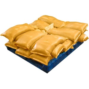 Sandbags Pre Filled Yellow (uv protected) (21x25kg)
