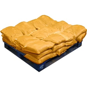 Sandbags Pre Filled Yellow  (uv protected) (30x15kg)
