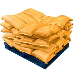 Pre Filled Yellow Sandbags (uv protected) (42x25kg)