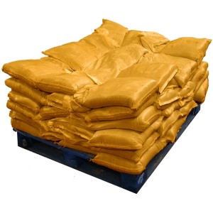 Pre Filled Yellow Sandbags (uv protected) (60x15kg)