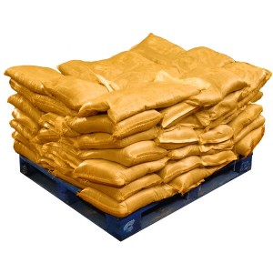 Sandbags Pre Filled Yellow (uv protected) (70x15kg)