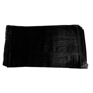 100x Empty UV Black Sandbags