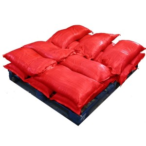 Pre Filled Red Sandbags (uv protected) (14x25kg)