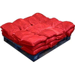 Sandbags Pre Filled Red (uv protected) (30x15kg)