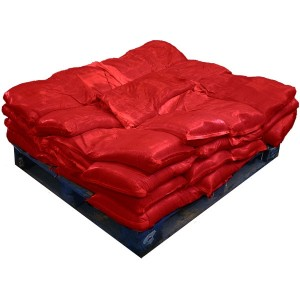 Sandbags Pre Filled Red (uv protected) (40x15kg)