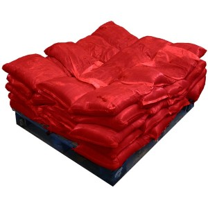 Sandbags Pre Filled Red (uv protected) (50x15kg)