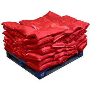 Sandbags Pre Filled Red (uv protected) (70x15kg)