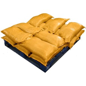 Pre Filled Yellow Sandbags (uv protected) (14x25kg)