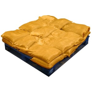 Sandbags Pre Filled Yellow  (uv protected) (20x15kg)