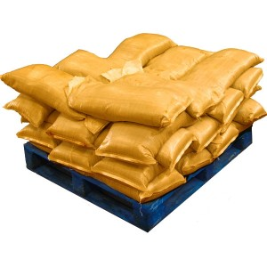 Pre Filled Yellow Sandbags (uv protected) (35x25kg)