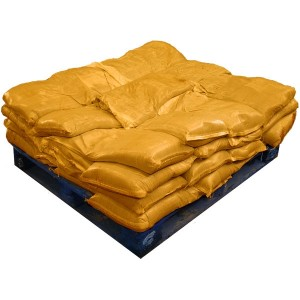 Sandbags Pre Filled Yellow  (uv protected) (40x15kg)