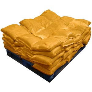 Sandbags Pre Filled Yellow  (uv protected) (50x15kg)