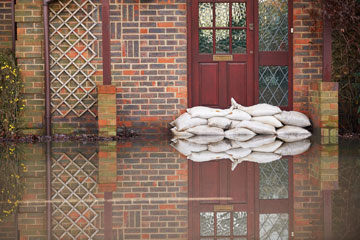 Home Flood Defence Sandbags